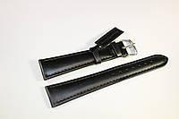 Кожаный ремень Bennett&Murray-ремень из натуральной кожи черный  гладкий 20 мм*16