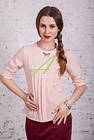 Деловая блузка весна 2017 от производителя - (код бл-114а)