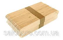 Шпатель деревянный одноразовый для воска, 100 шт.