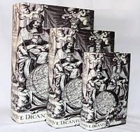 """Книга-шкатулка """"Ornando Vtriqve Dicantvr"""" на магните набор 3в1 330-3"""
