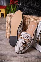 Женские туфли-мюли O-13170