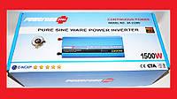 Преобразователь напряжения инвертор Powerone 12- 220V 1500W - чистая синусоида