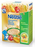 Молочная каша Nestle Овес, рис с яблоком и грушей, 200 г