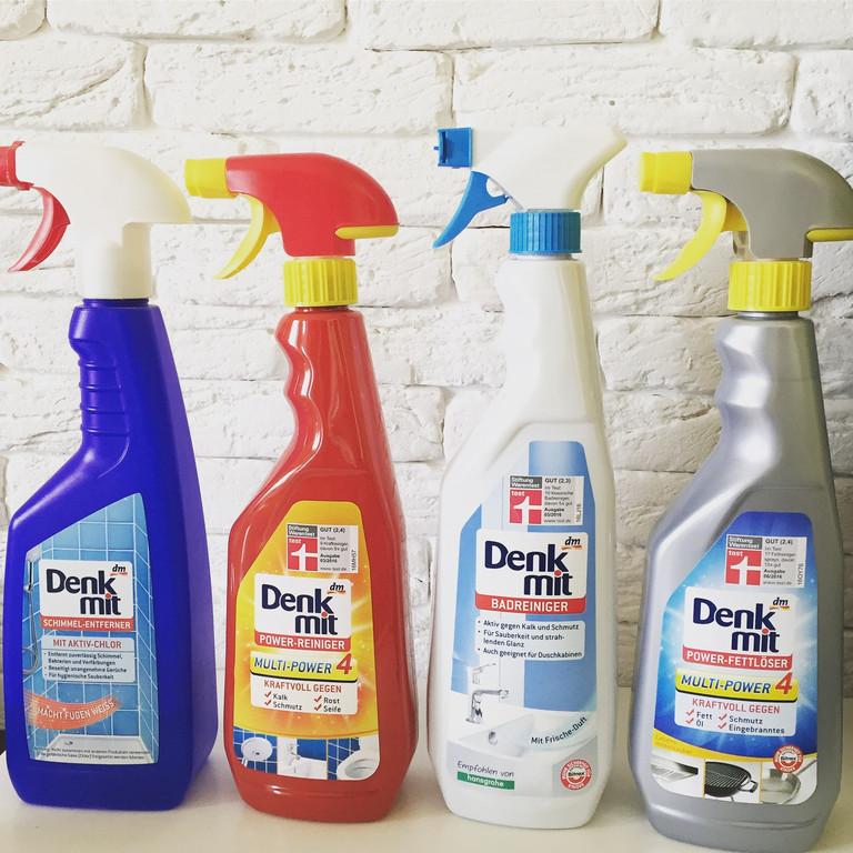 DenkMit средства помощь в уборке