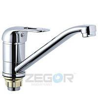 Смеситель для кухни Zegor Z41-PDF-A071