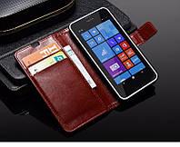 Чехол книжка для Nokia Lumia 630 / 635 - Luxury стиль !