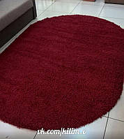 Красной ковер с высоки ворсом