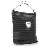 Сумка вертикальная черная мешок Valenciy