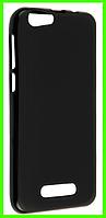 Силиконовый черный чехол для смартфона Cubot note s