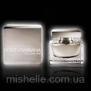 Туалетная вода для женщин Dolce & Gabbana L`Eau The One (Дольче Габбана Леу Зе Ван) реплика