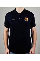 Футболка мужская NIKE FC BARCELONA 20418 темно-синяя
