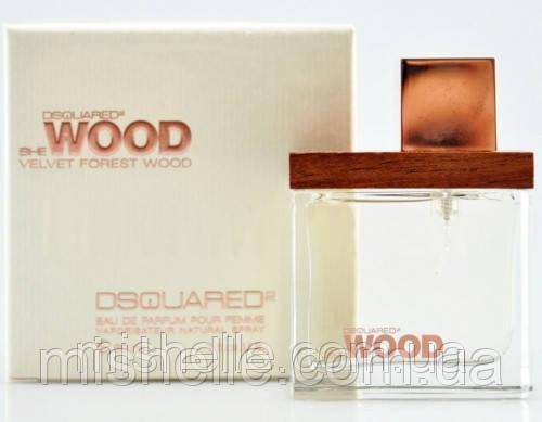 Жіноча туалетна вода Dsquared She Wood Velvet (Дискваред2 Ши Вуд) репліка
