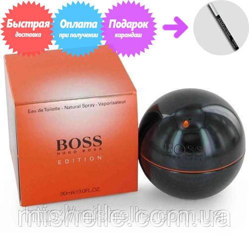 Мужская туалетная вода Hugo Boss Boss In Motion Black Edition (Хьюго Босс Босс Ин Моушн Блэк Эдишн)