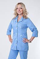 Голубой медицинский костюм 3219 (коттон)