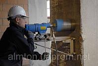 Алмазное бурение технологически отверстий в бетоне