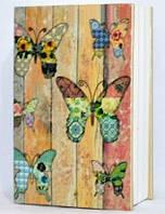 "Книга-сейф ""Бабочки"" на ключике 801-4"