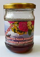 Фитосироп из цветов белой акации, липы и крымской розы 200мл