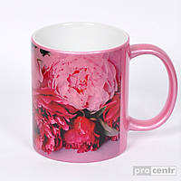 Чашка керамика перламутр для нанесения