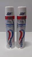 Зубная паста помпа Aquafresh Whitening 100 мл