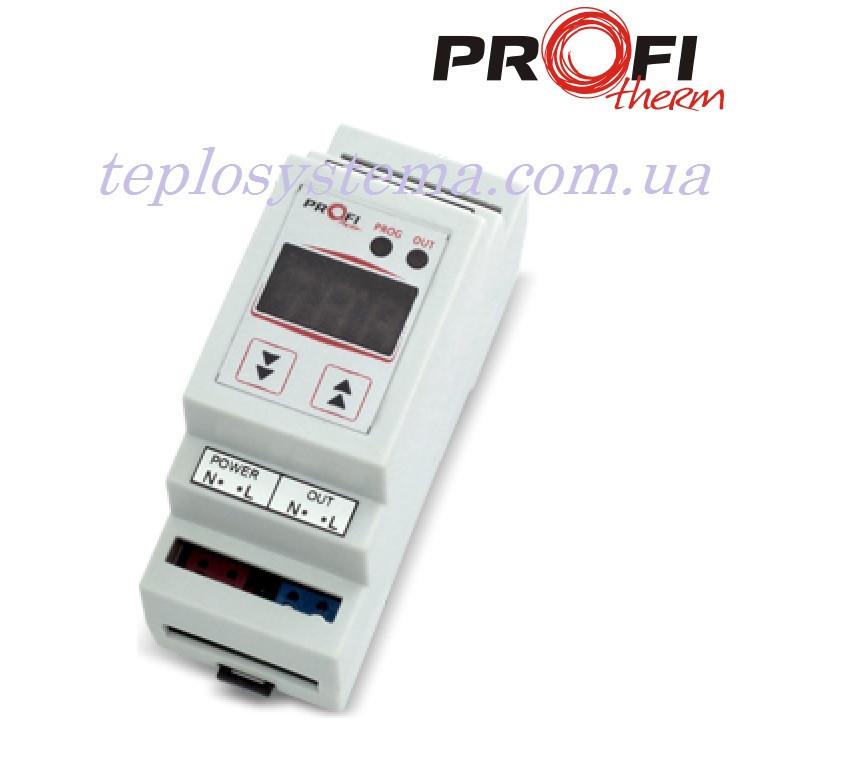 Терморегулятор ProfiTherm К-1 (на DIN-рейку)