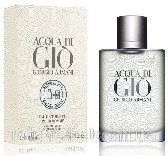 Giorgio Armani Acqua Di Gio Acqua For Life (Джорджио Армани Аква Ди Джио Аква Фор Лайф), мужской