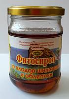 Фитосироп из плодов шиповника с облепихой 200мл