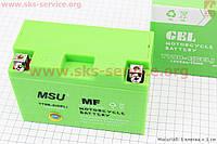 Аккумулятор 8Аh МОТО YT9B-4 (гелевый, зелен.) 155/75/105мм