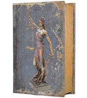 """Книга-сейф """"Правосудие (Фемида)"""" на ключике 705-10"""
