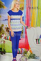 Женский комплект футболка+лосины Турция. VOGUE 10200. Размер 44-46.