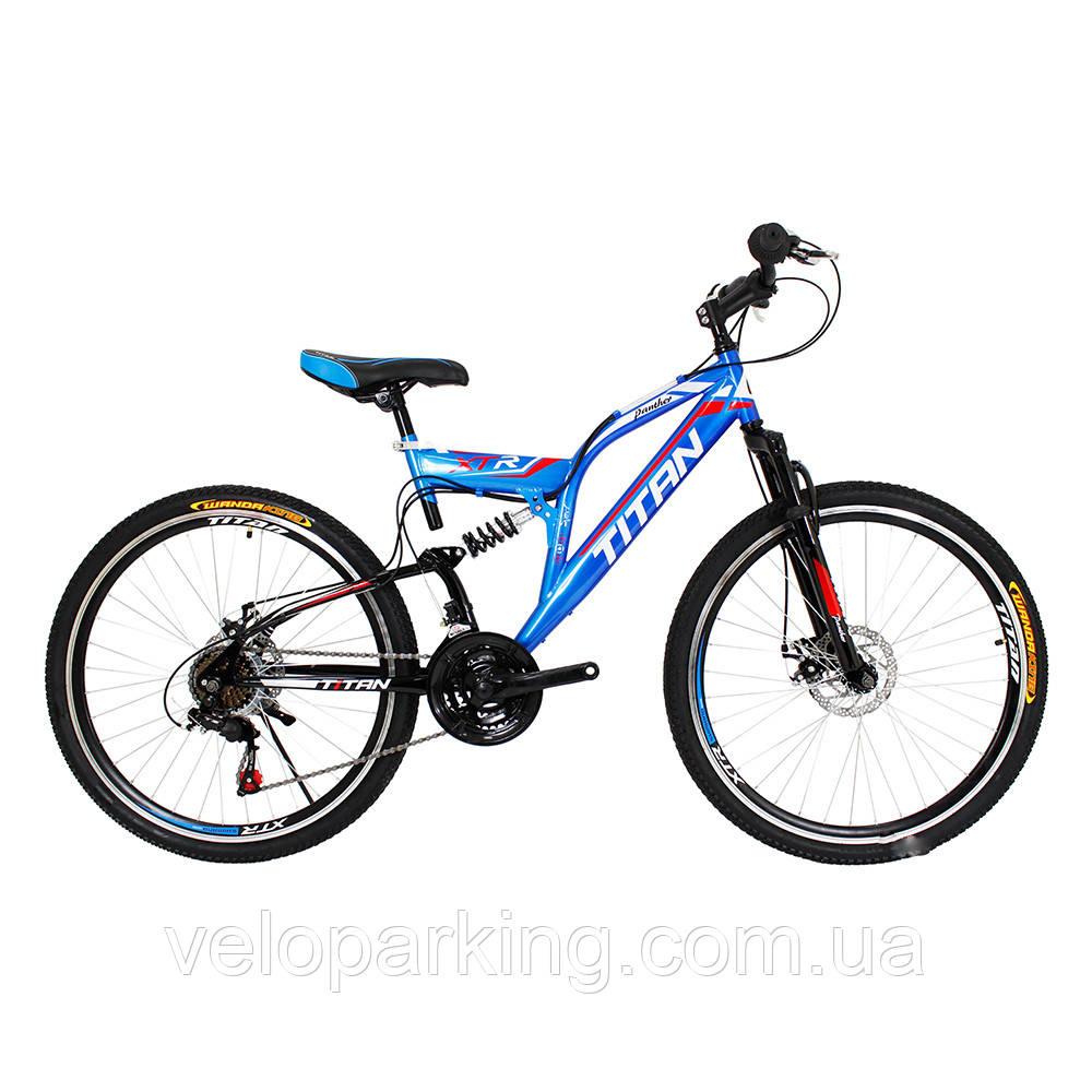 Горный велосипед Titan Panther 26 (2017) new