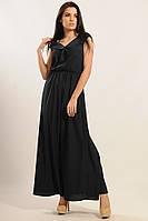Нежное длинное шифоновое платье 42-52 размера, фото 1