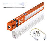 Светодиодный светильник Tecro Т5 5Вт 300мм Нейтральный белый 4100К