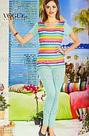 Женский комплект футболка+лосины Турция. VOGUE 10196. Размер 44-46.