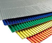 Набор Гофрированный картон металлизированный 270 гр/м2 20x30 см А4 5 цв/уп
