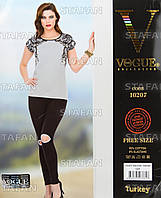 Женский комплект футболка+лосины Турция. VOGUE 10207. Размер 44-46.