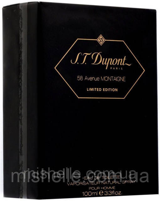 Мужской парфюм Dupont 58 Avenue Montaigne Limited Edition (Дюпон 58 Авеню Монтень Лимитид Эдишн) копия