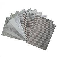 Гофрированный картон металлизированный Серебрянный 270 гр/м2 20x30 см А4 1 шт