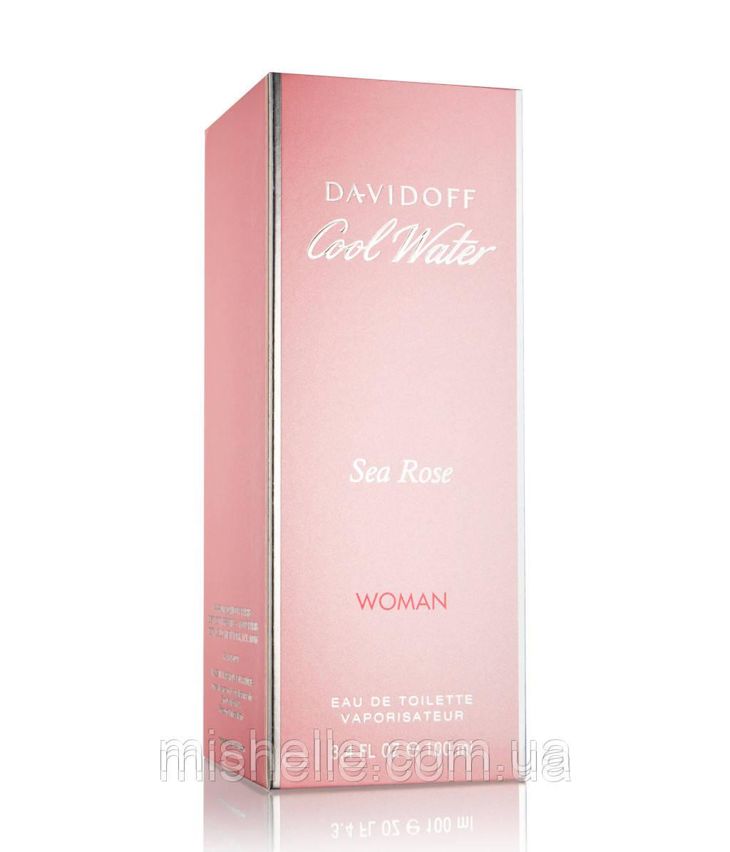 Туалетная вода для женщин Davidoff  Cool Water Sea Rose (Давидофф Кул Вотер Роуз) реплика