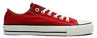 Женские кеды Converse Chuck Taylor All Star Red (Конверс) красные