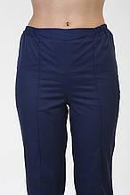 Медицинские брюки 3604 (коттон) темно-синие