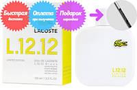 Lacoste Eau de Lacoste L.12.12 Blanc Limited Edition (Лакост Эу Де Лакост 12 12 Бланк Лимитид Эдишн), мужской