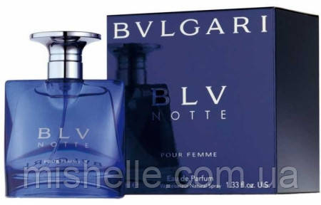 Женский парфюм Bvlgari BLV Notte Pour Femme (Булгари БЛВ Нотт Пур Фем), женский, копия
