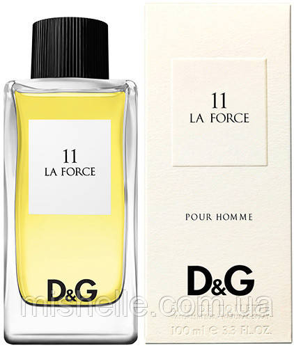 Мужской одеколон D&G Anthology La Force 11 (Дольче Габана Антология Ле Форсе) реплика