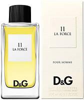 Мужской одеколон D&G Anthology La Force 11 (Дольче Габана Антология Ле Форсе)