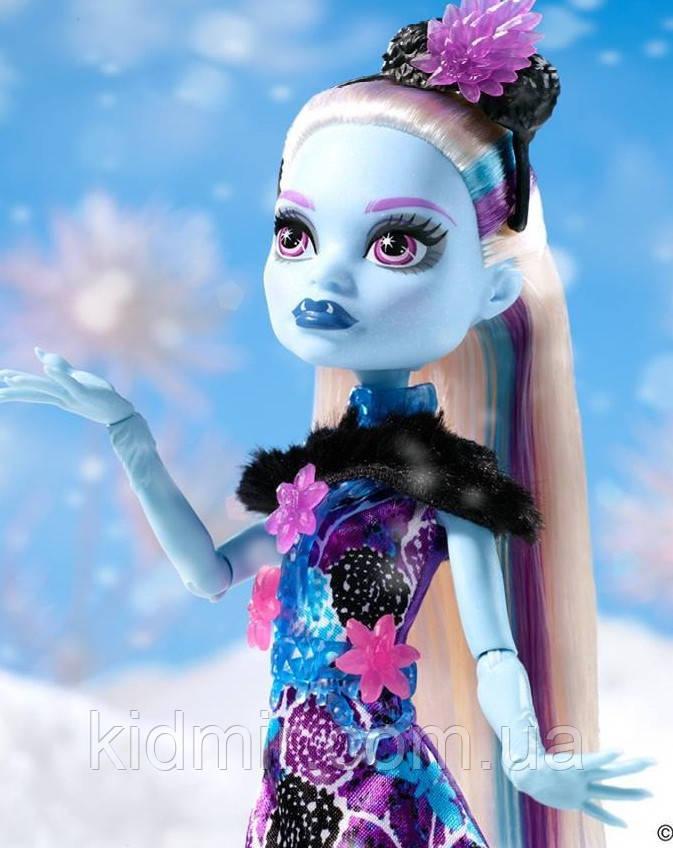 Кукла Monster High Эбби Боминейбл (Abbey Bominable) Вечеринка Монстров Монстер Хай
