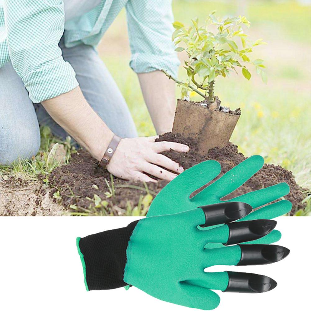 Перчатки садовые Garden Genie Glovers - перчатки для работы в саду