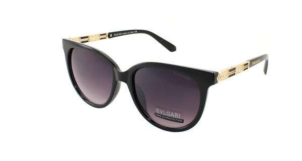 Черные женские солнцезащитные очкиBvlgari