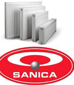 Стальные радиаторы Sanica турция