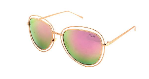 Очки бабочки летние от солнца Dior