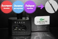 Мужской одеколон Lacoste Black Essential (Лакост Блек Эссеншиал)